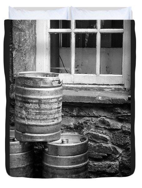 Empty In Edinburgh Duvet Cover