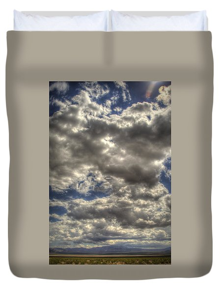 Empty Land Duvet Cover