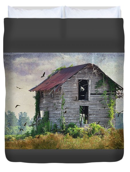 Empty Spaces Duvet Cover by Jan Amiss Photography