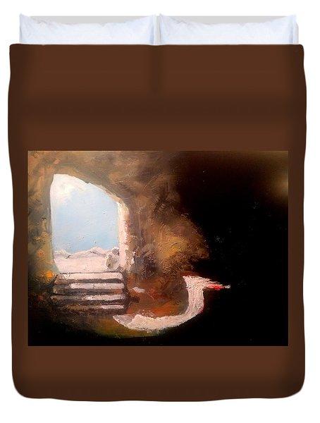 Empty Tomb Duvet Cover