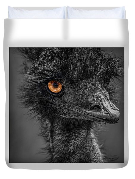 Emu Duvet Cover by Paul Freidlund