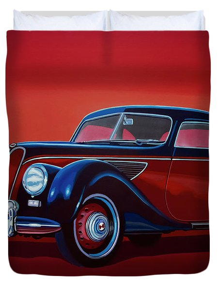 Emw Bmw 1951 Painting Duvet Cover