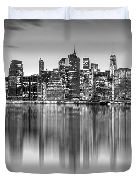 Enchanted City Duvet Cover