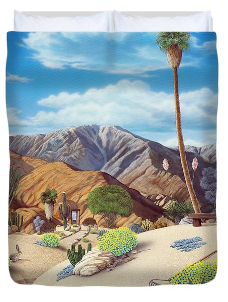 Enchanted Desert Duvet Cover