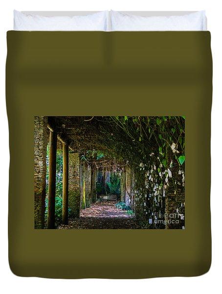 Enchanted Entrance Duvet Cover