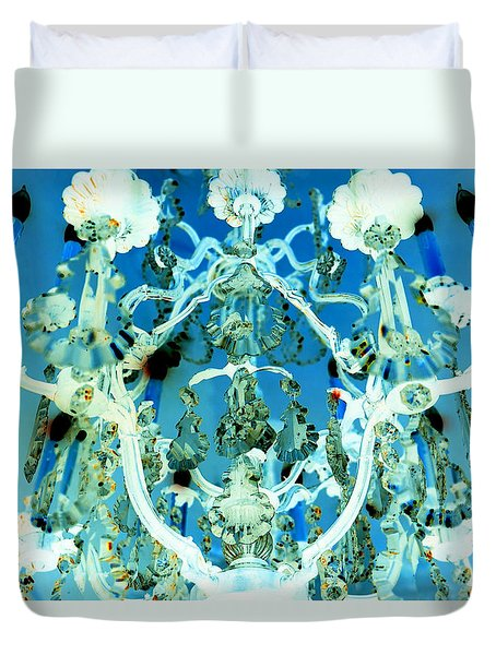 Enchanted Evening II Duvet Cover
