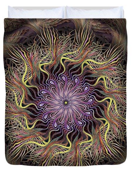 Enchanted Florist Duvet Cover