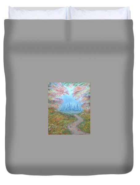 Enchanted Forest Duvet Cover by The GYPSY And DEBBIE