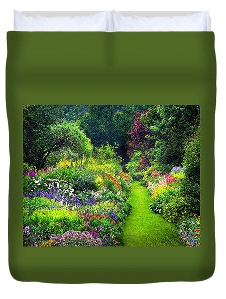 Enchanted Garden Duvet Cover
