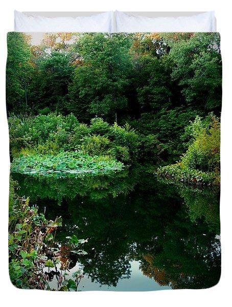 Enchanted Gardens Duvet Cover