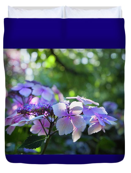 Enchanted Hydrangea Duvet Cover