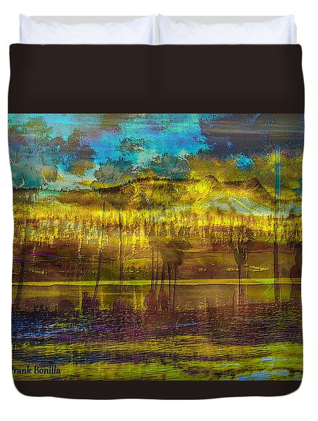 Enchanted Land Duvet Cover