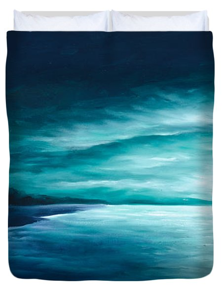 Enchanted Moon I Duvet Cover by James Christopher Hill