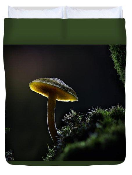 Enchanted Mushroom Duvet Cover by Dirk Ercken