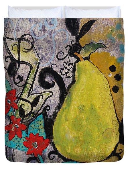 Enchanted Pear Duvet Cover