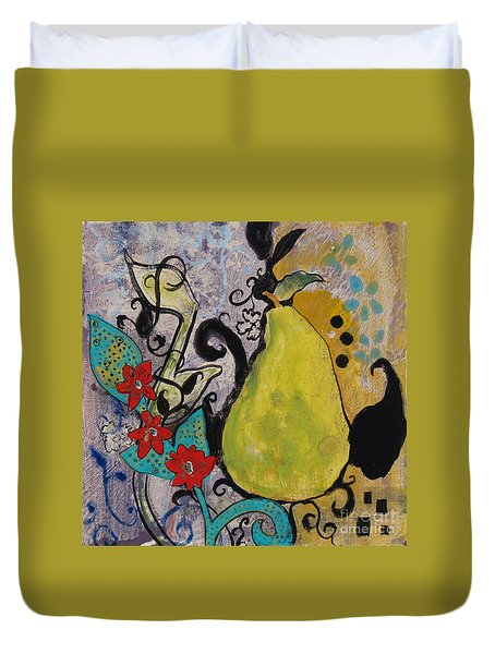 Enchanted Pear Duvet Cover
