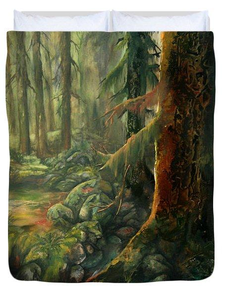 Enchanted Rain Forest Duvet Cover