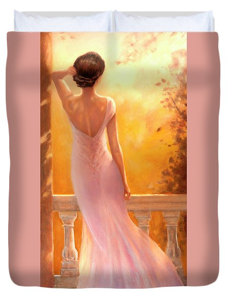 Enchanted Summer Duvet Cover
