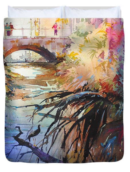 Enchanted Waters Duvet Cover