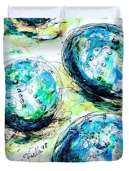 Enchanthing Sea Urchins Duvet Cover