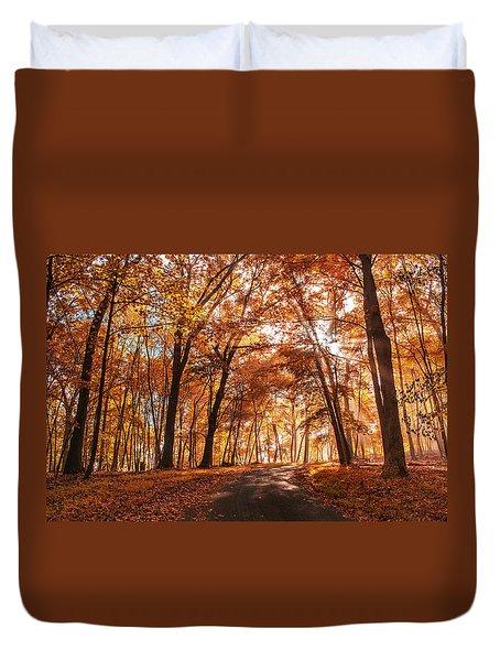 Enchanting Fall Duvet Cover