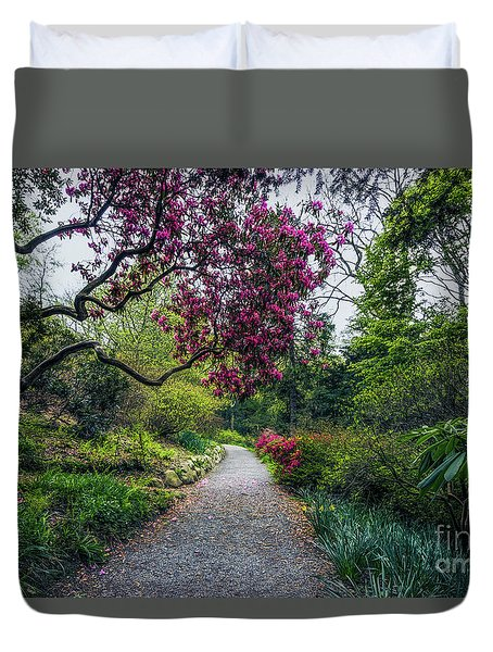 Enchanting Garden Duvet Cover