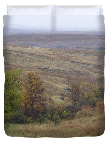 Enchantment Of The September Grasslands Duvet Cover