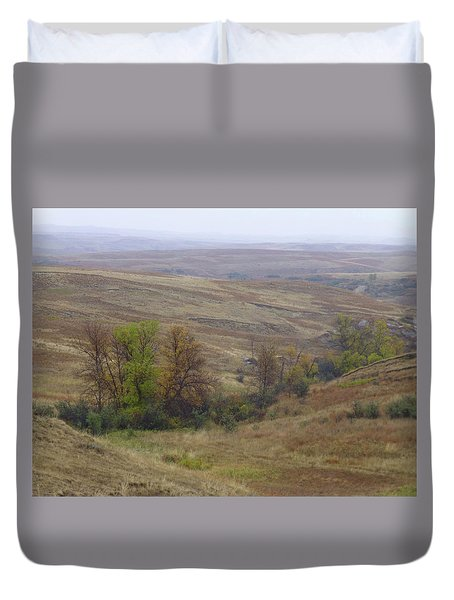 Enchantment Of The September Grasslands Duvet Cover
