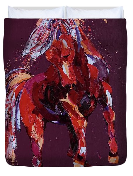 Enchantress Duvet Cover by Penny Warden