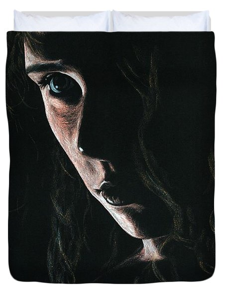 Enchantress Duvet Cover by Richard Young