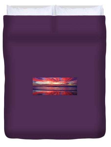 Encinitas Energy Afterglow Duvet Cover