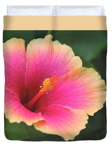 Encore Presentation - Simple Pleasure Hibiscus Duvet Cover
