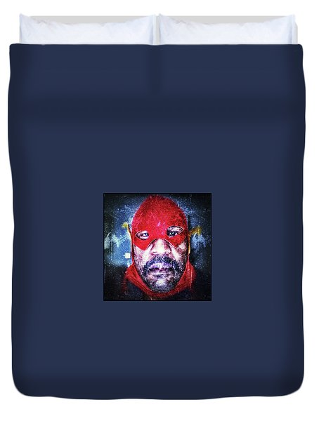 Encounters With Lord Harden Number One Duvet Cover
