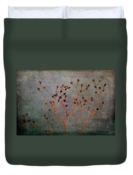 Duvet Cover featuring the photograph End And Beginning by Randi Grace Nilsberg