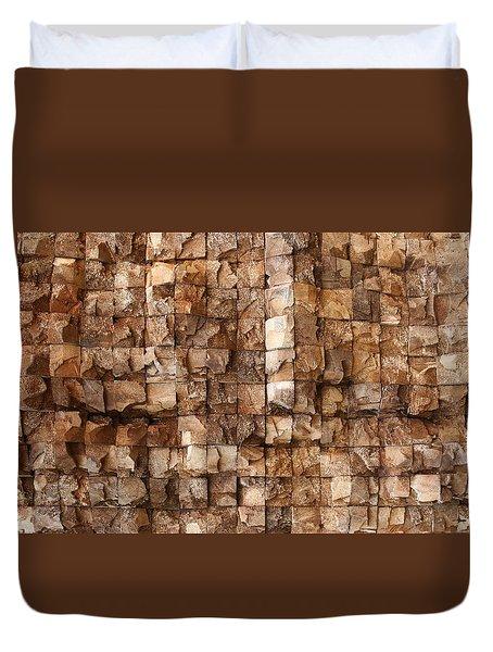 End Grain 132 Duvet Cover