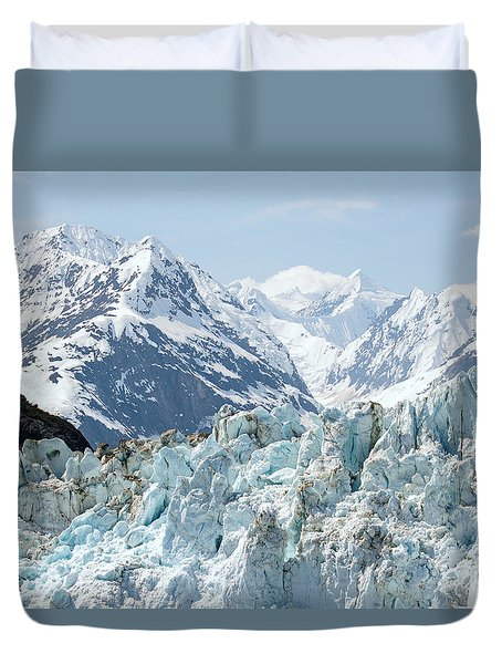 Glaciers End Of A Journey Duvet Cover