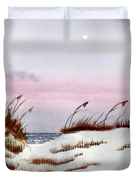 End Of A Perfect Day Duvet Cover