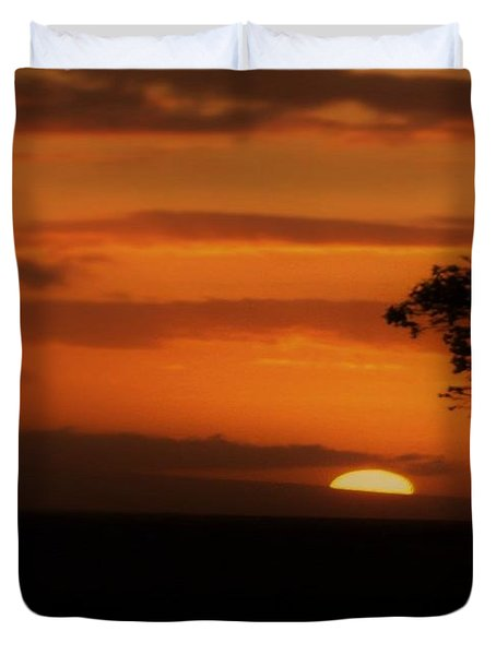End Of Day Duvet Cover