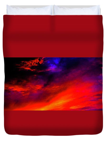 End Of Day Duvet Cover by Michael Nowotny