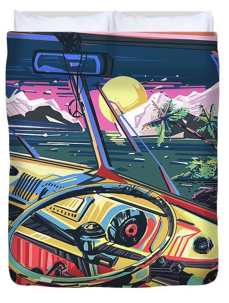 End Of Summer Duvet Cover by Bekim Art