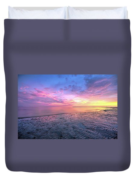 End Of The Day. Duvet Cover