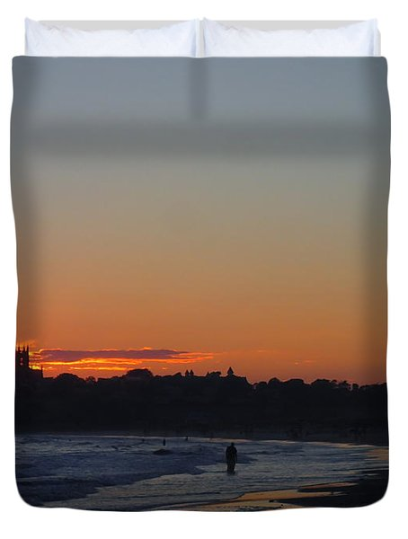 End Of The Island Day. Duvet Cover