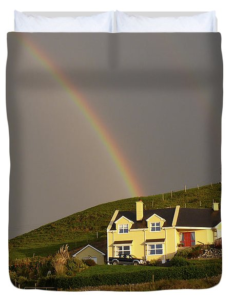 End Of The Rainbow Duvet Cover by Mike McGlothlen