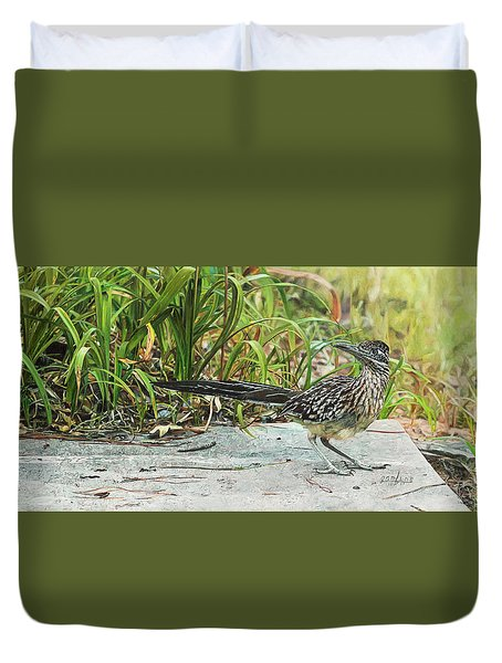 End Of The Road Duvet Cover
