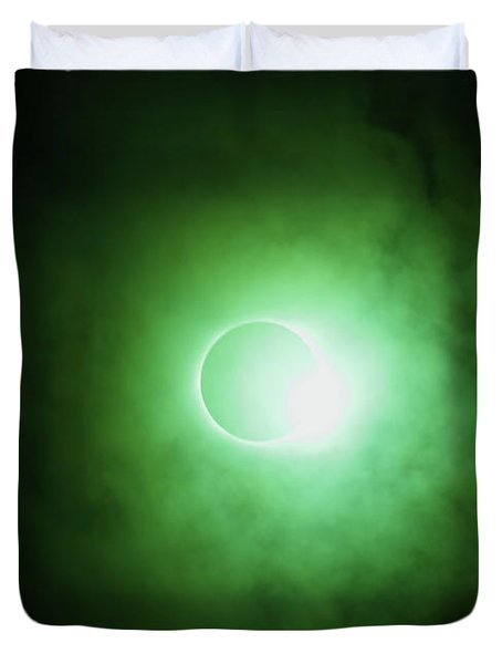 End Of Totality Duvet Cover