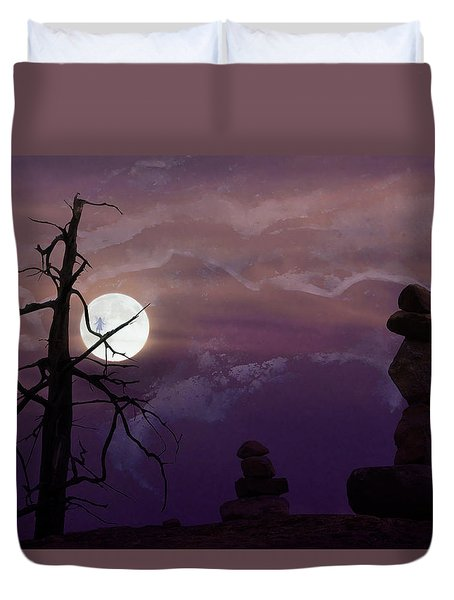 End Of Trail Duvet Cover