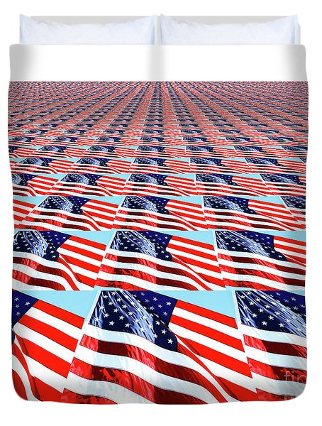 Duvet Cover featuring the photograph Endless Glory By Kaye Menner by Kaye Menner