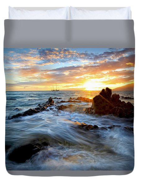 Endless Ocean Duvet Cover