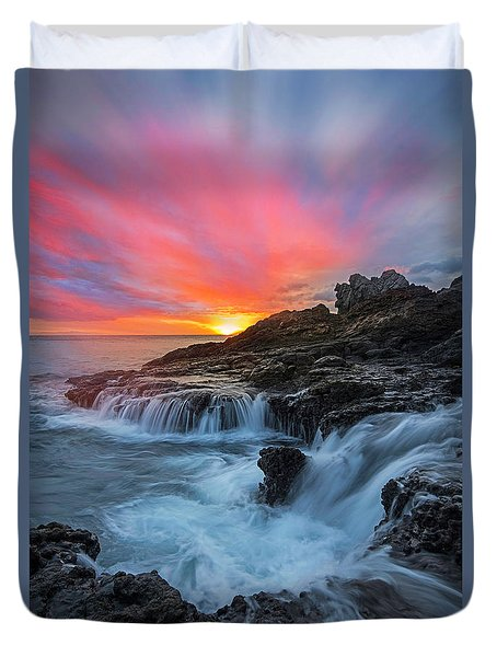 Endless Sea Duvet Cover