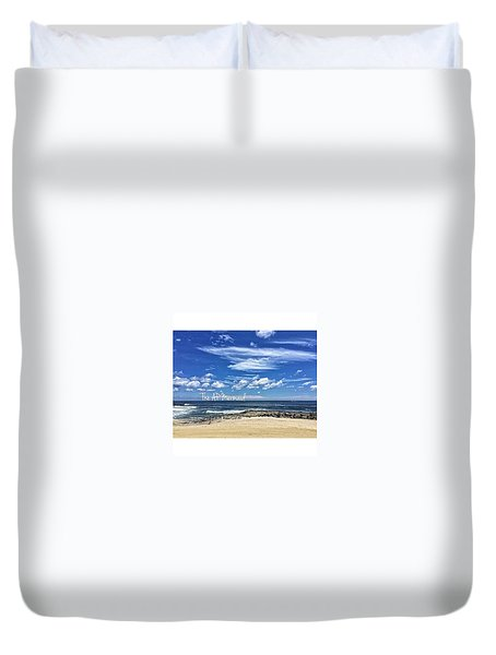 Endless Summer In Asbury Park II Duvet Cover